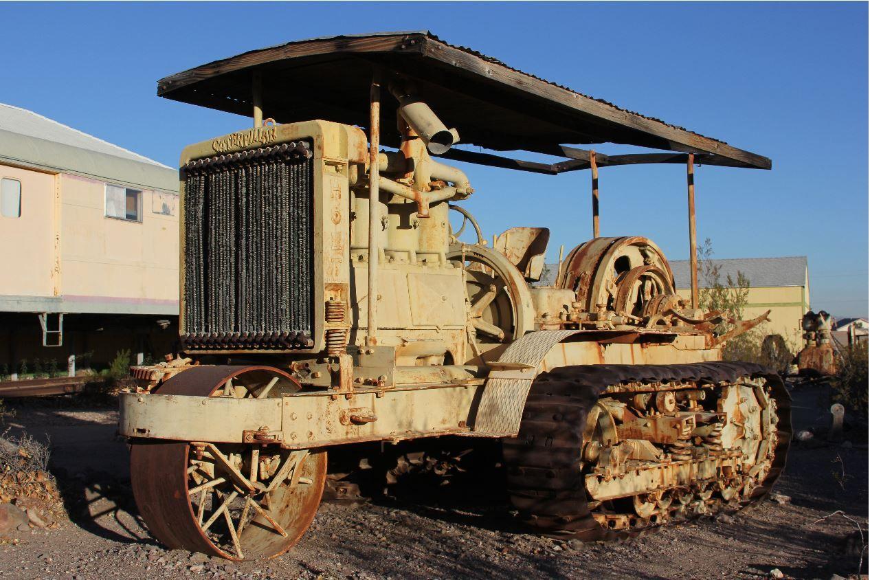 This Holt 75 Caterpillar tractor was manufactured around