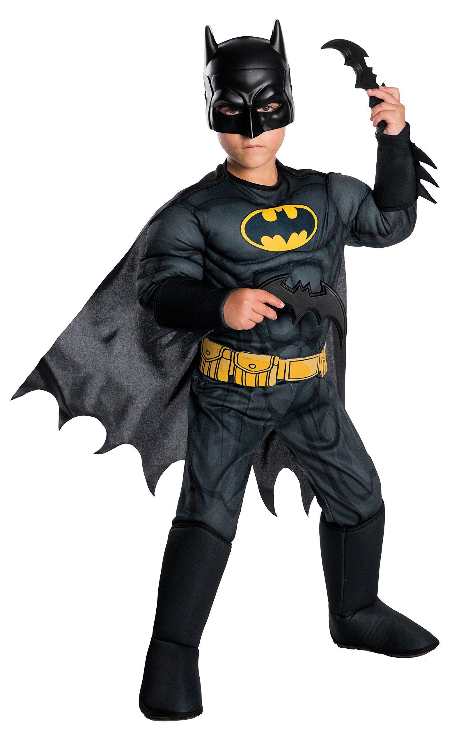 or Medium or Large NEW Halloween Costume Boy/'s Batman Small
