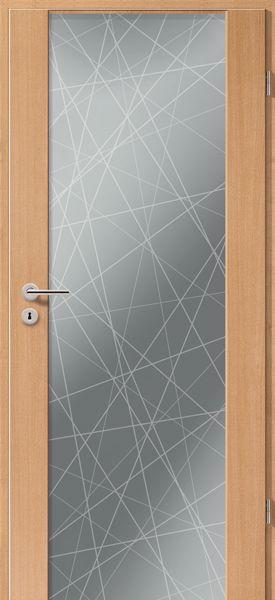 porte int rieure contemporaine type 2100 motif straight. Black Bedroom Furniture Sets. Home Design Ideas
