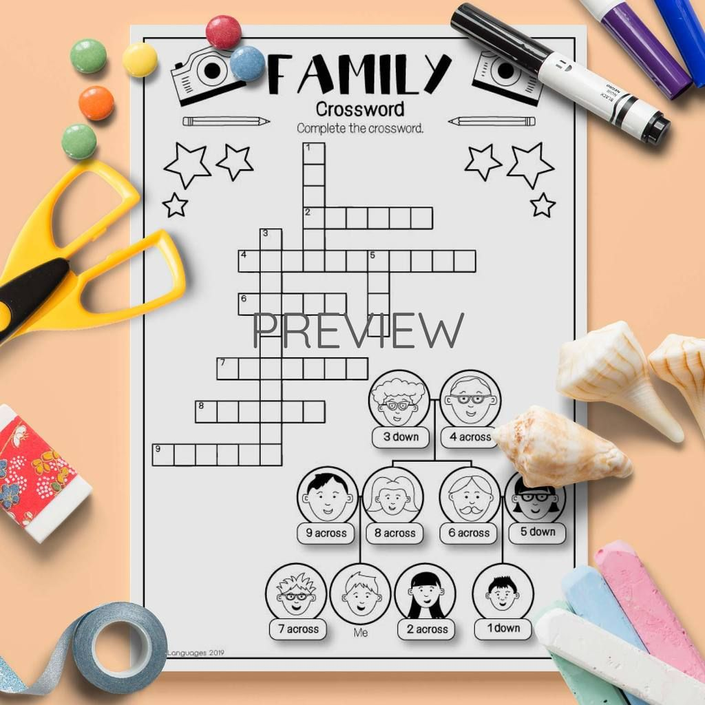 L4 Family Crossword