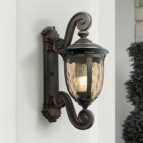 Bellagio 24 high energy efficient outdoor wall light 42463 lamps plus