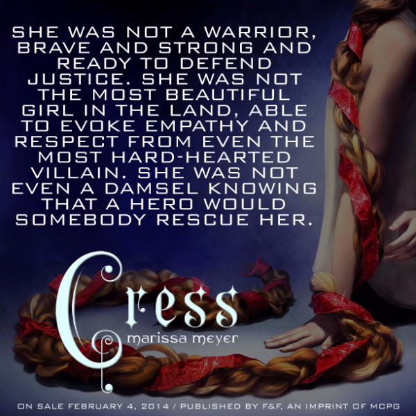 Quote From CRESS By Marissa Meyer