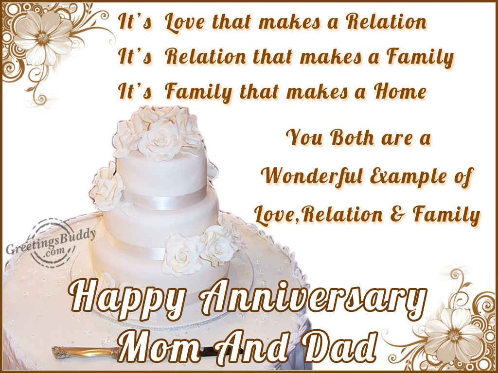 Image result for anniversary wishes for parents in HD