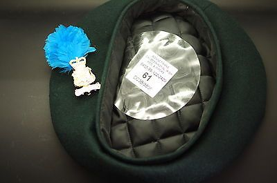#British army #bonnet mans & badge   #beret size - 61,  View more on the LINK: http://www.zeppy.io/product/gb/2/121657419136/