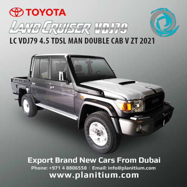 2021 Toyota Lc Vdj79 Tdsl Double Cab Pickup From Dubai In 2021 Toyota Lc Toyota Land Cruiser