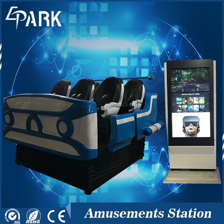 e9ab3cb84ea Amusement Park ride Virtual Reality experience 6 Seats 9d Vr Simulator