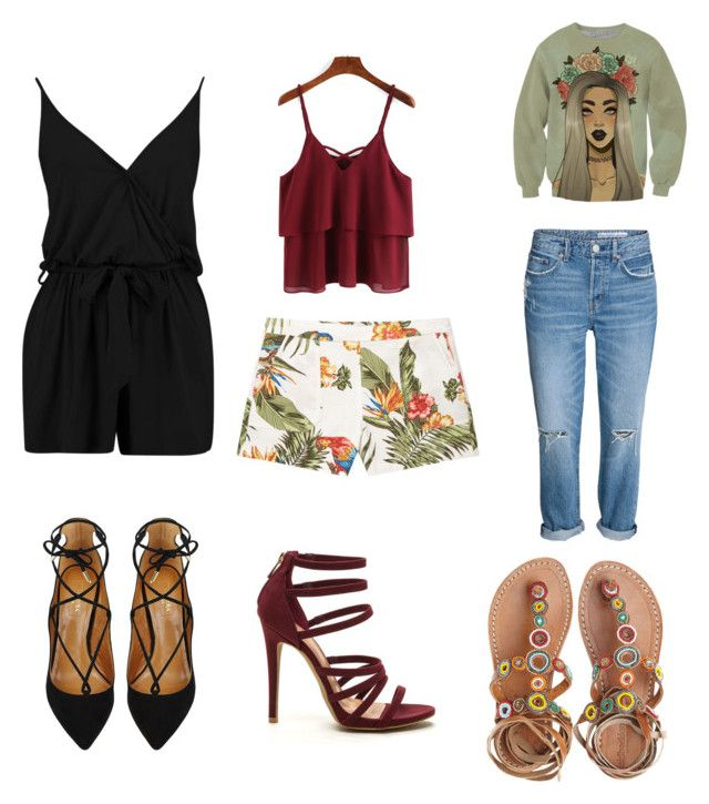"""""""Untitled #979"""" by marxendjie on Polyvore featuring MANGO, Laidback London and Aquazzura"""