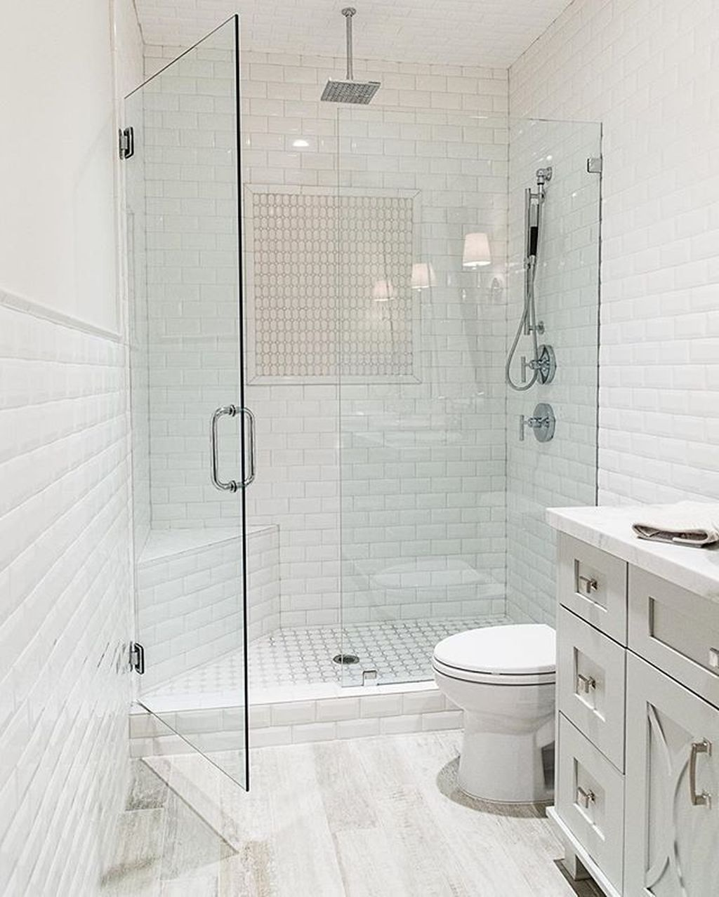 42 Perfect Shower Design Ideas To Remodel Your Bathroom Small Bathroom Bathrooms Remodel Small Bathroom Remodel