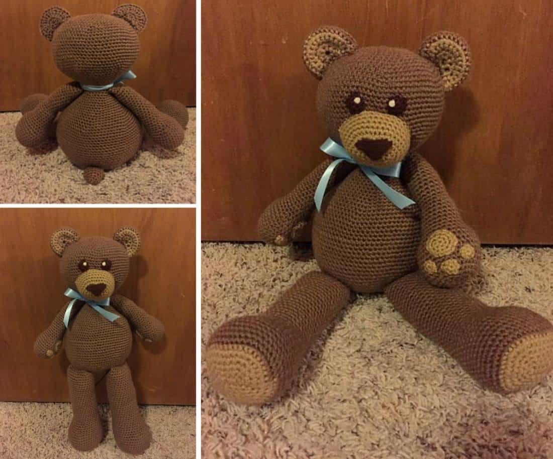 Teddy Bear Crochet Pattern Best Collection