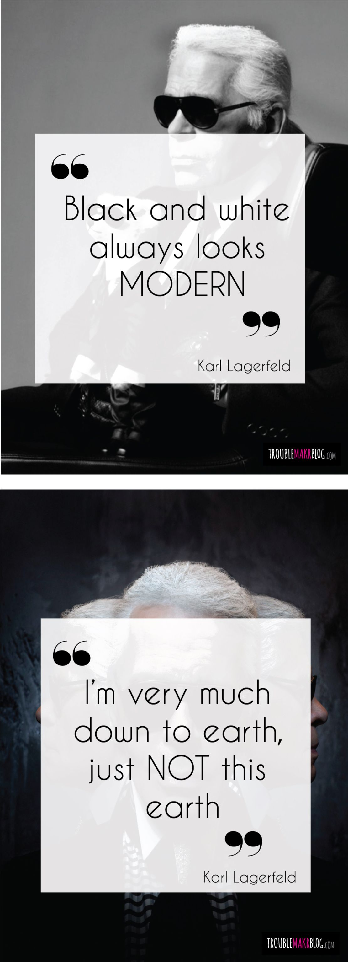 Karl lagerfeld quotes quotations fashion the words pinterest