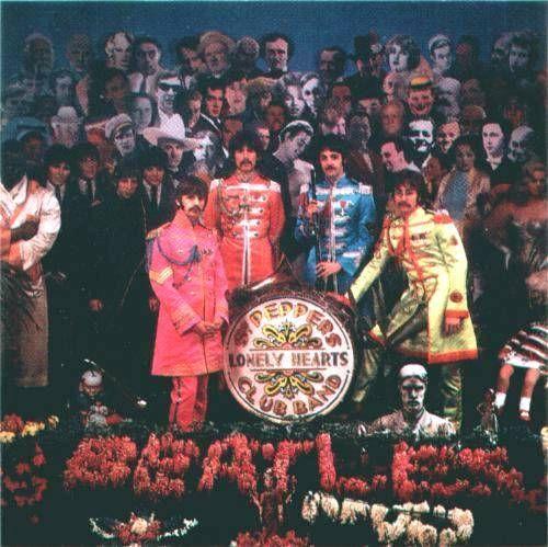 The Beatles Sgt Pepper Giclee Canvas Album Art