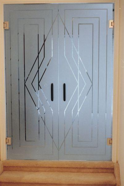 Art Deco Etched Glass Doors images & Art Deco Etched Glass Doors images | Пескоструй | Pinterest | Glass ...