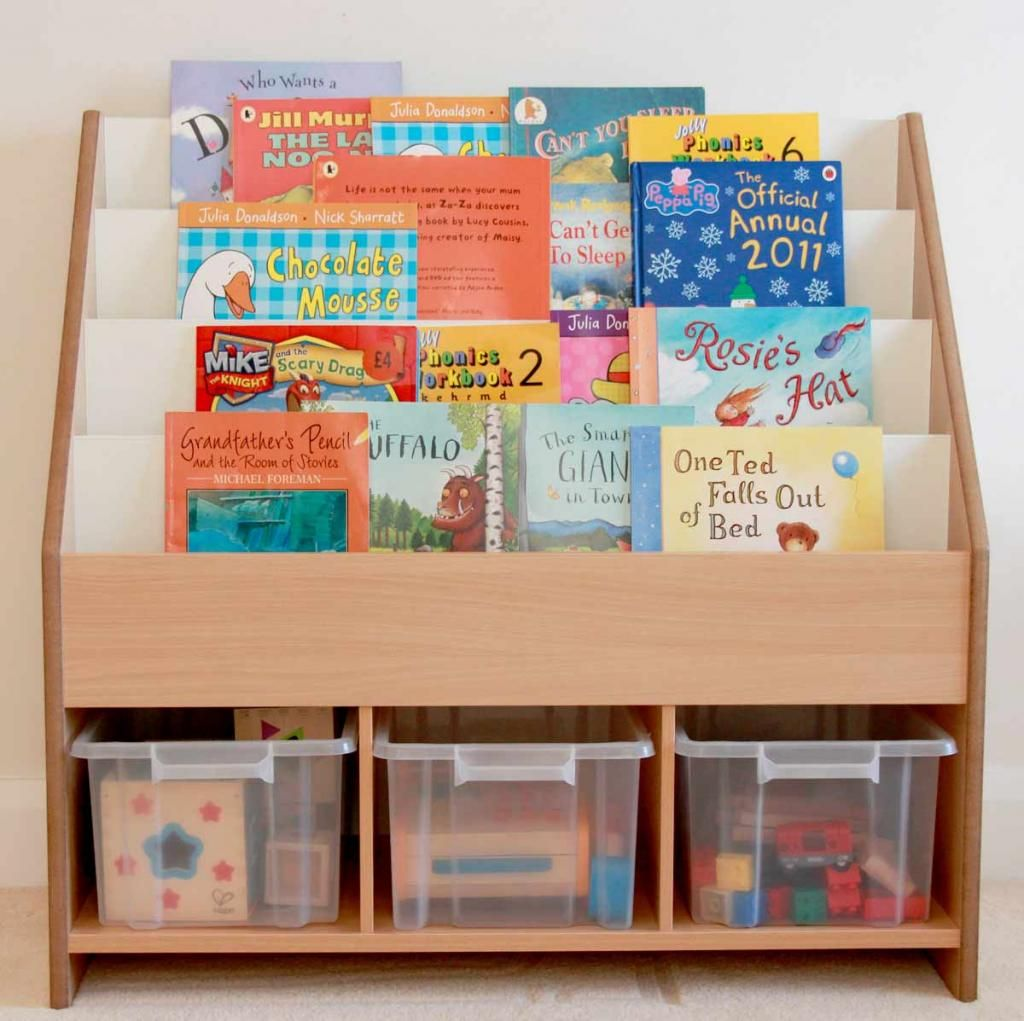 Toddler Book Storage Ideas: Books & Storage. Would Be Great On Wheels. Maybe For