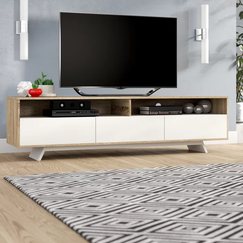 Wade Logan Rafael Tv Stand For Tvs Up To 65 Quot Amp Reviews