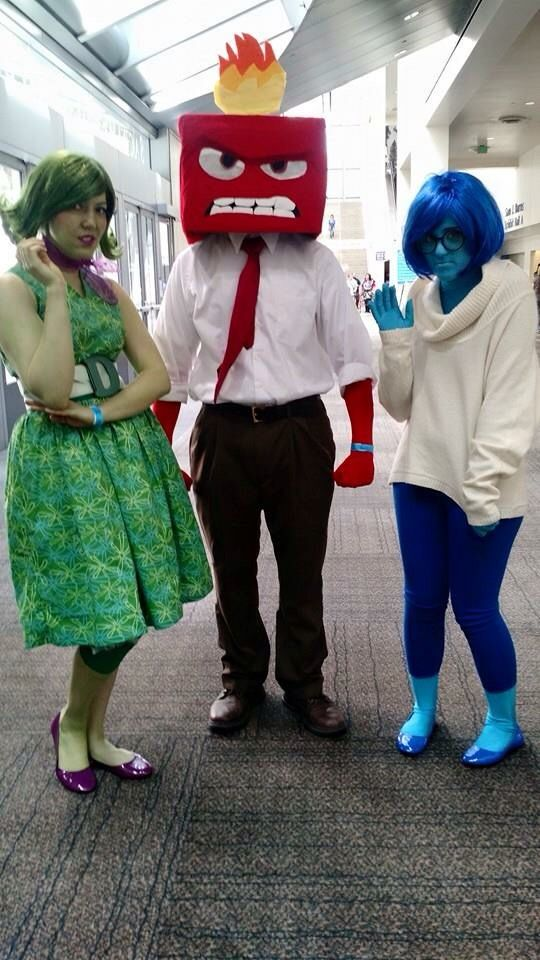 Pixars Inside Out Family Costume