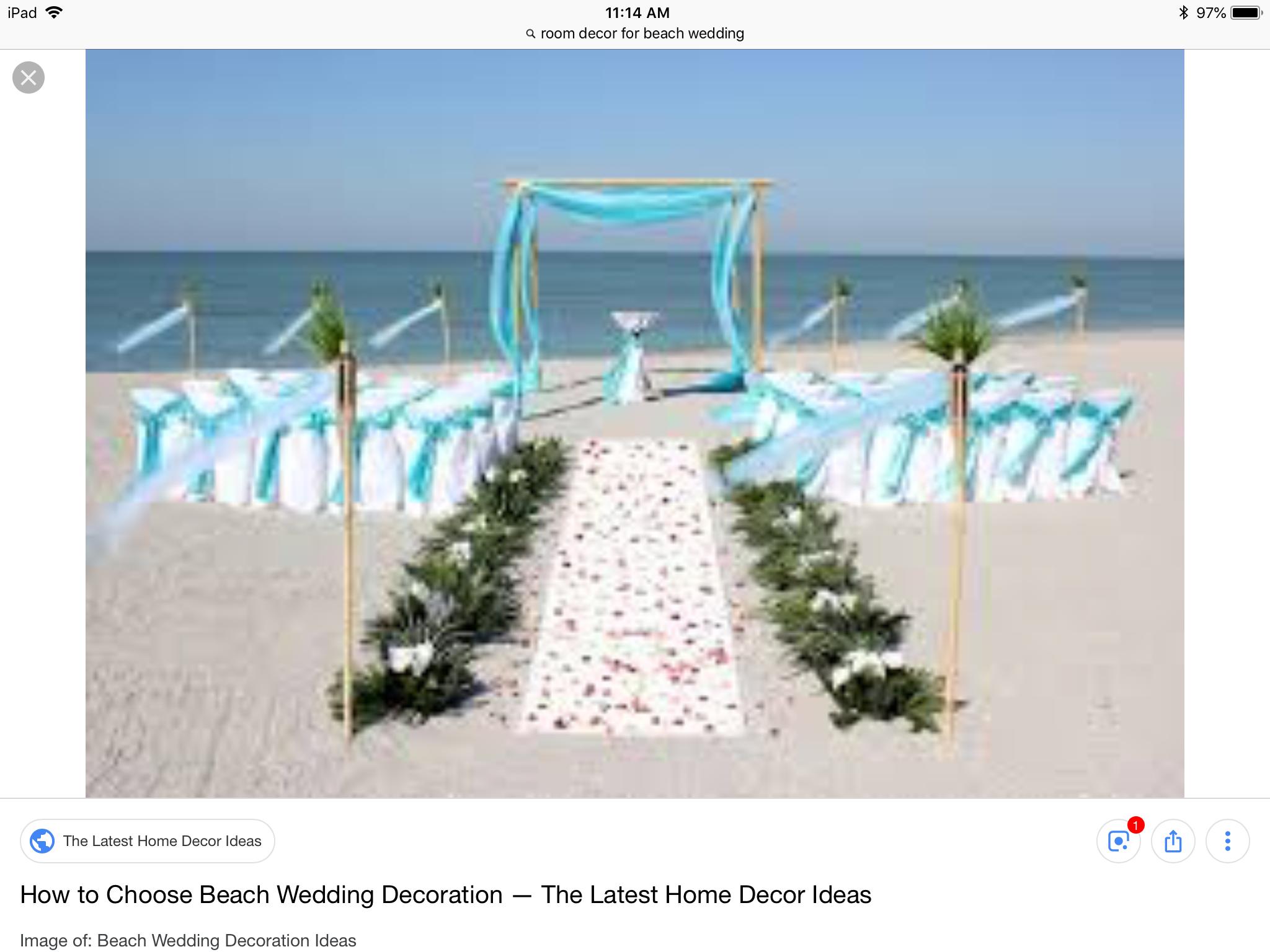 Room Decor 3 Unique Beach Wedding Ideas Beach Wedding Decorations Diy Diy Beach Wedding