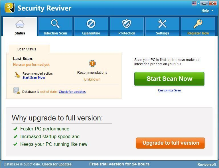 Download ReviverSoft Security Reviver Free Pc File