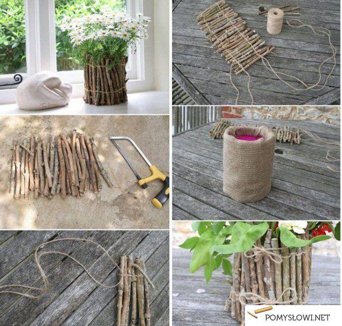 Diy Home Decor creation Pinterest Logs ideas, Rustic decor and