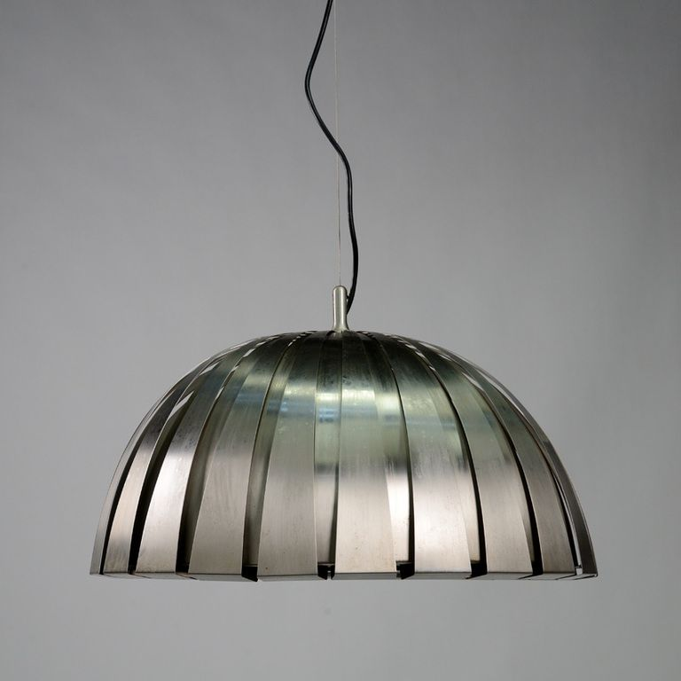 Elio Martinelli; #1749 Stainless Steel Ceiling Light for Martinelli Luce 1963. & Model 1749 pendant designed by Elio Martinelli for Martinelli ... azcodes.com