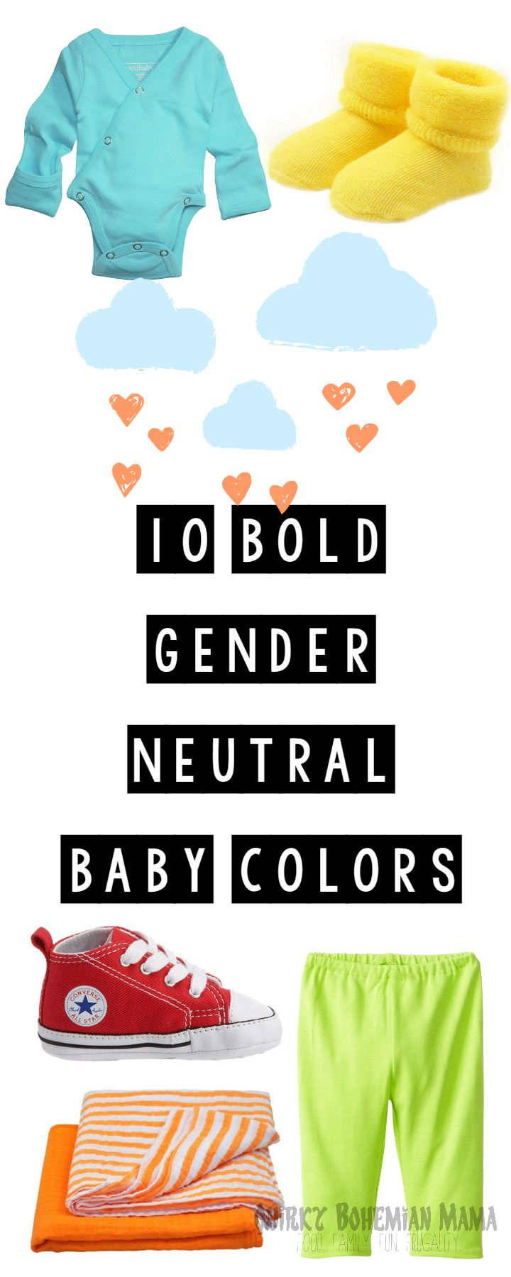 10 Bold Gender Neutral Baby Colors Unisex Baby Clothes