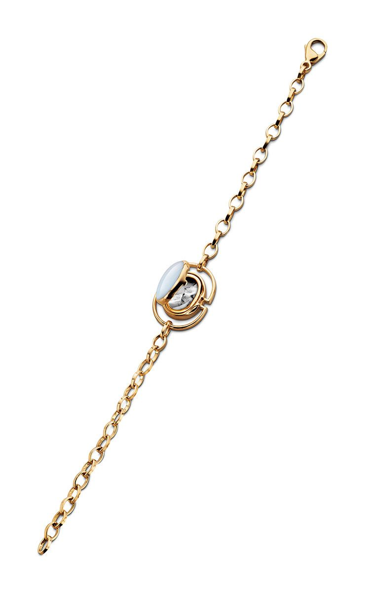 k yellow gold locket bracelet by monica rich kosann now available