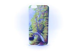 Carcaza Pintura Puente Bosque Iphone 4 / Iphone 5 / Iphone 6 — HighTeck Store