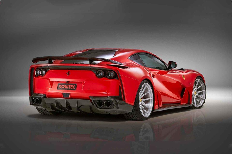 Novitec Widebody Ferrari 812 Superfast Coupe In 2020 Ferrari Widebody Ferrari Super Cars