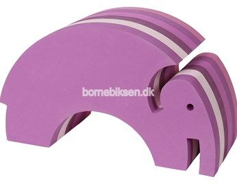 bObles elefant, multi pink