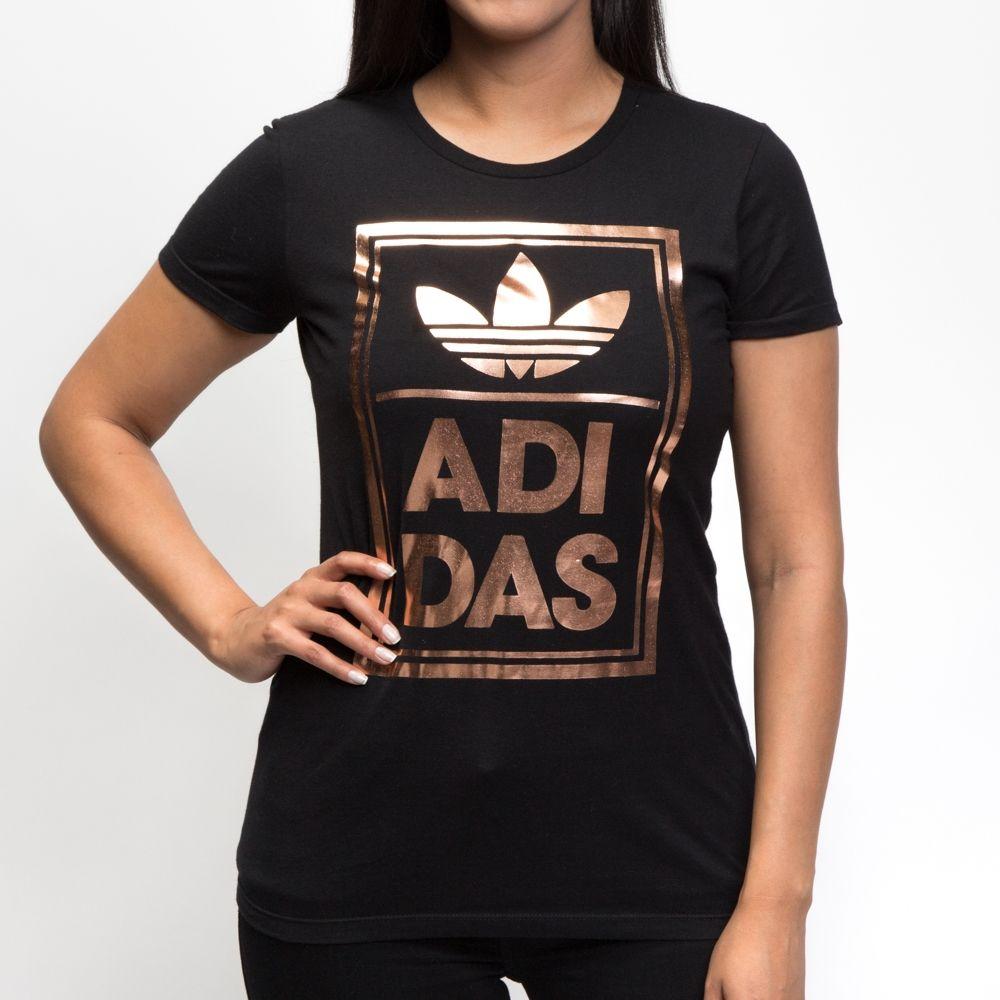 Womens Adidas Trefoil Logo Tee