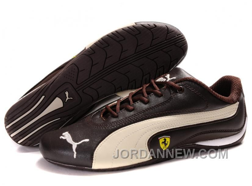 http://www.jordannew.com/womens-puma-ferrari-in-brown-beige-free-shipping.html WOMEN'S PUMA FERRARI IN BROWN/BEIGE FREE SHIPPING Only $76.00 , Free Shipping!