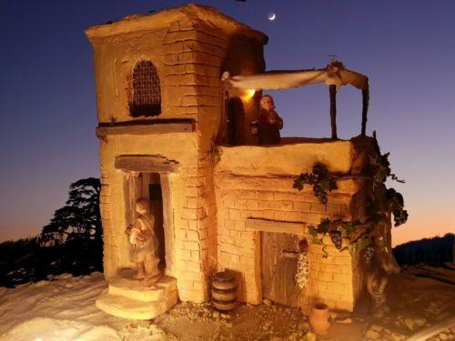 Krippe Orientalisches Haus