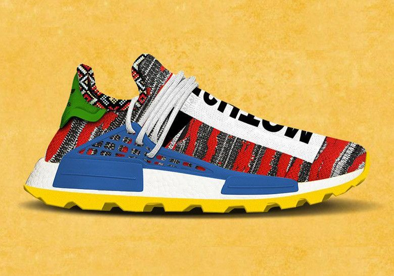 1bf4f6e50 Pharrell x adidas NMD Hu Trail Colorful Fall 2018