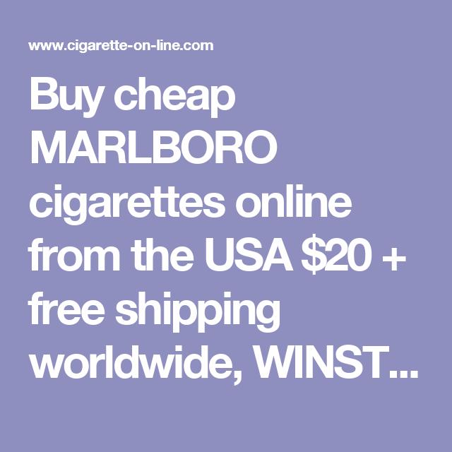 Sweden classic cigarettes Winston buy