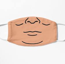 Hank Hill Face Mask Mask By Asdke In 2021 Mask Face Mask Face