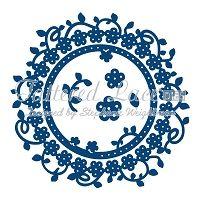 Tattered Lace - Dies - Floral Interlocking