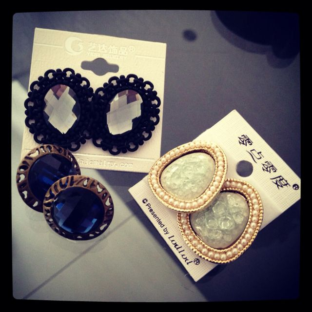 Some of my earring collection ;)