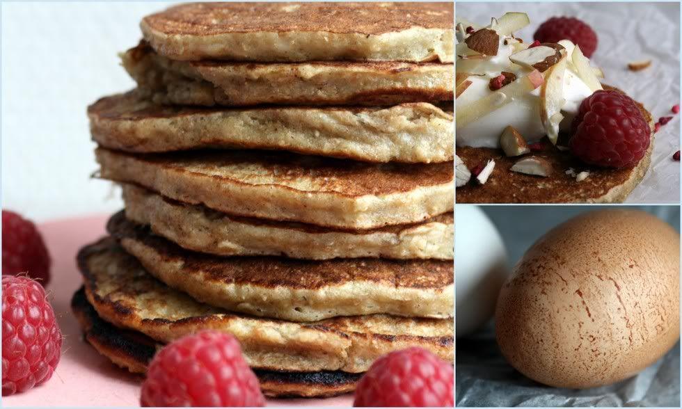 Buttede morgen-pandekager på banan og gryn   Opskrifter   Pinterest   Pandekager, Morgenmad og ...