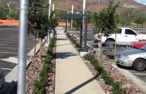 Del Sur Town Center parking Lot-San Diego | Decorative Stone Solutions