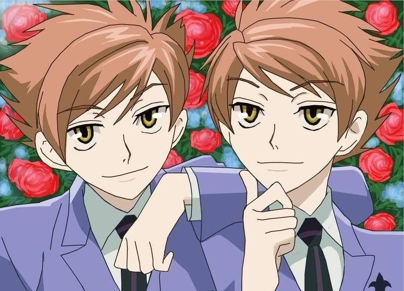 Hikaru and Kaoru - Ouran High School Host Club