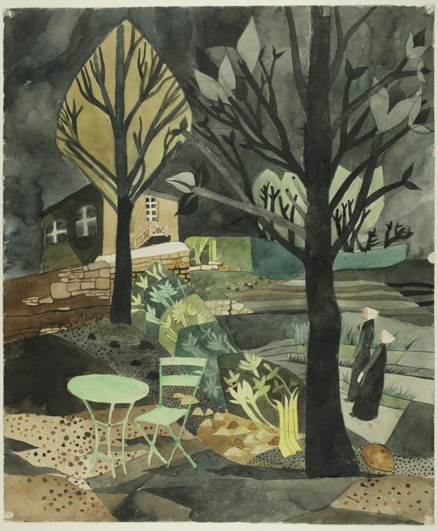 Heinrich Campendonk German, 1889-1957, From Brittany