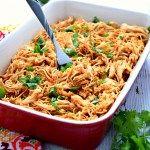 Salsa chicken with instant pot #maketacoseasoning