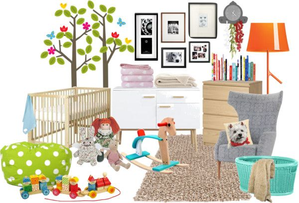 """Nursery room"" by comachos on Polyvore"
