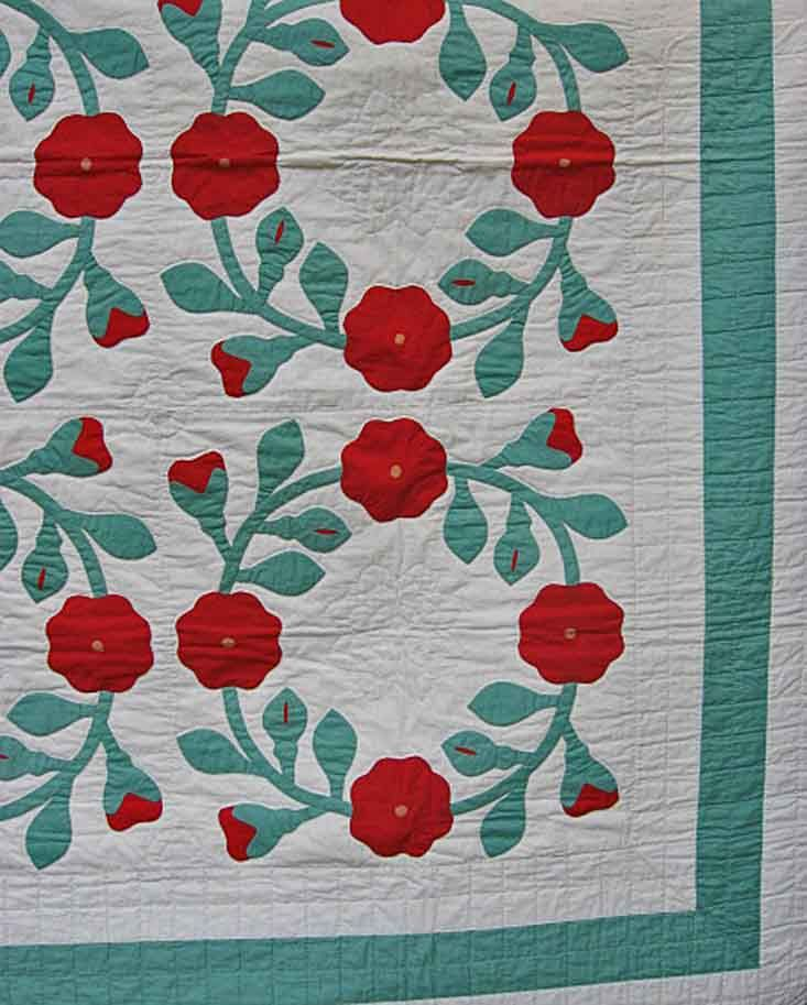rose of sharon quilt variation - Google Search | Rose of Sharon ... : rose of sharon quilt - Adamdwight.com