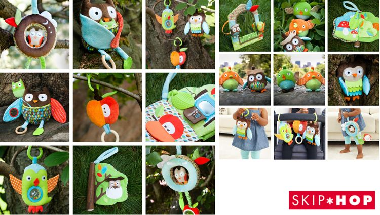 Sandra Isaksson Tree Top toys for Skip Hop.