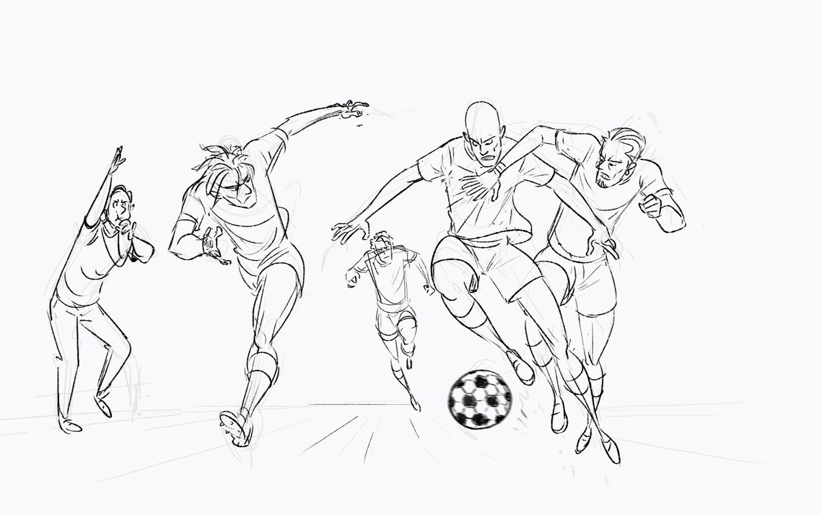 Http 2 Bp Blogspot Com Ugszmfwmei Ur Kbsot7ei Aaaaaaaaay4 0jjq9bn5pte S1600 Football 2 Jpg Sketches Drawings Character Design
