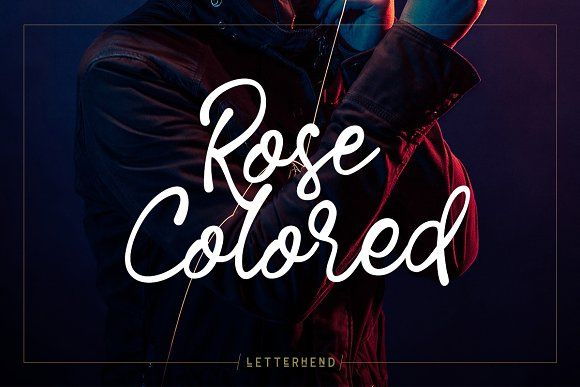 Download Rose Colored - Handwriting Script - Rose Colored is a ...