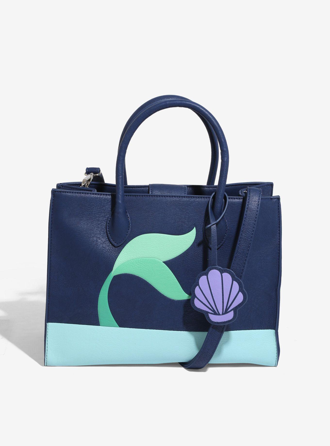 Splish Splash with the Loungefly Little Mermaid Purse and Wallet ... 0b3b38d05edd1