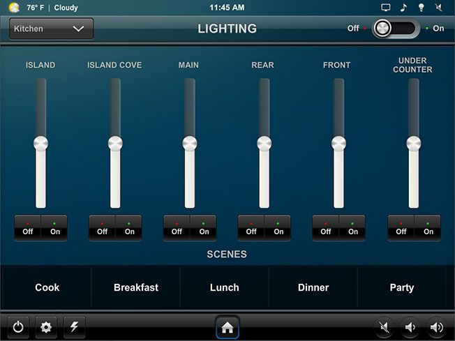 Home Automation App For Your Android Device Crestron Electronics Inc Home Automation Home Automation System Home Automation Software