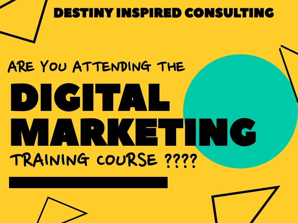 Are You Attending The Digital Marketing Training Course Seo