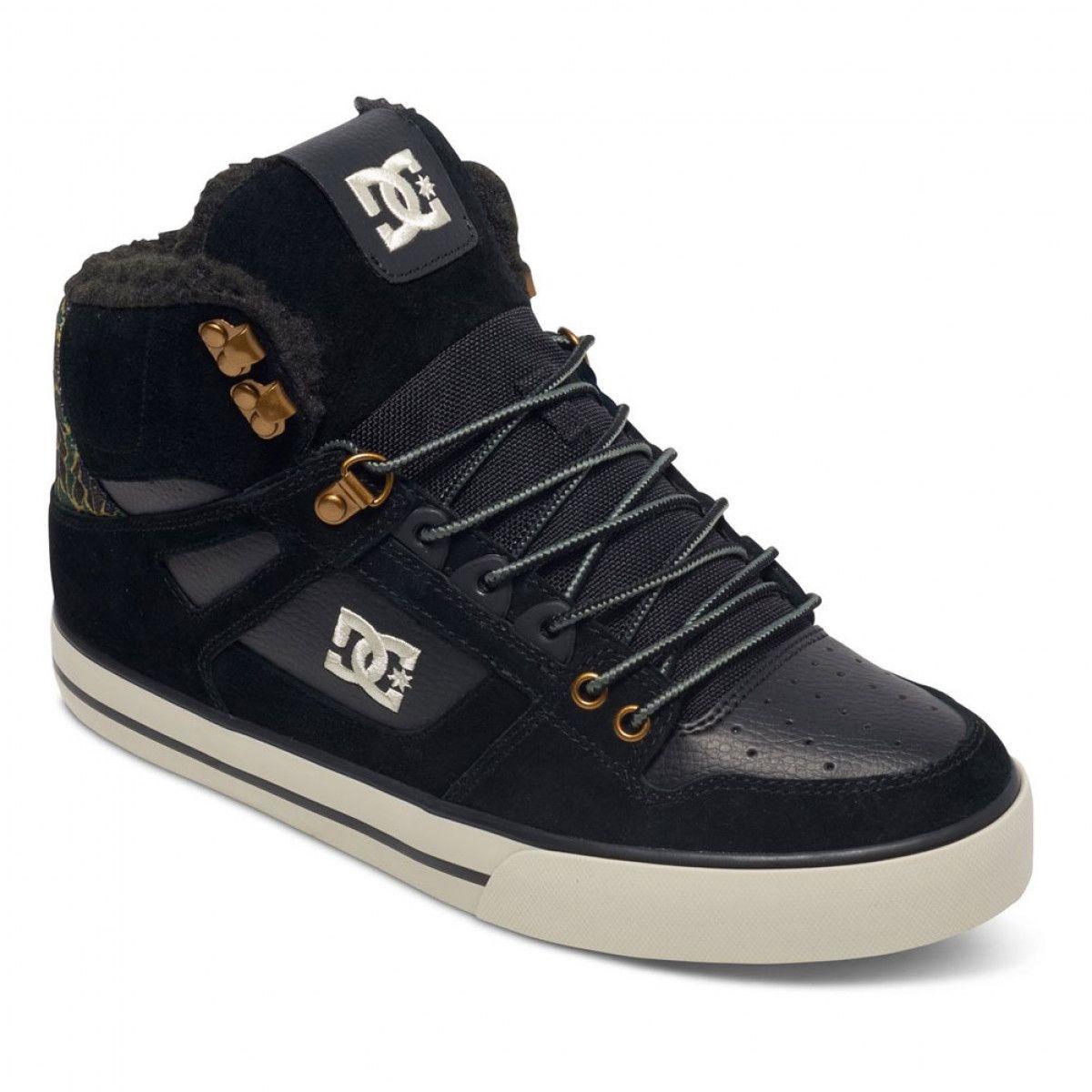 DC Shoes Men's Spartan High WC WNT Hi Top Shoes Black/Camo ...